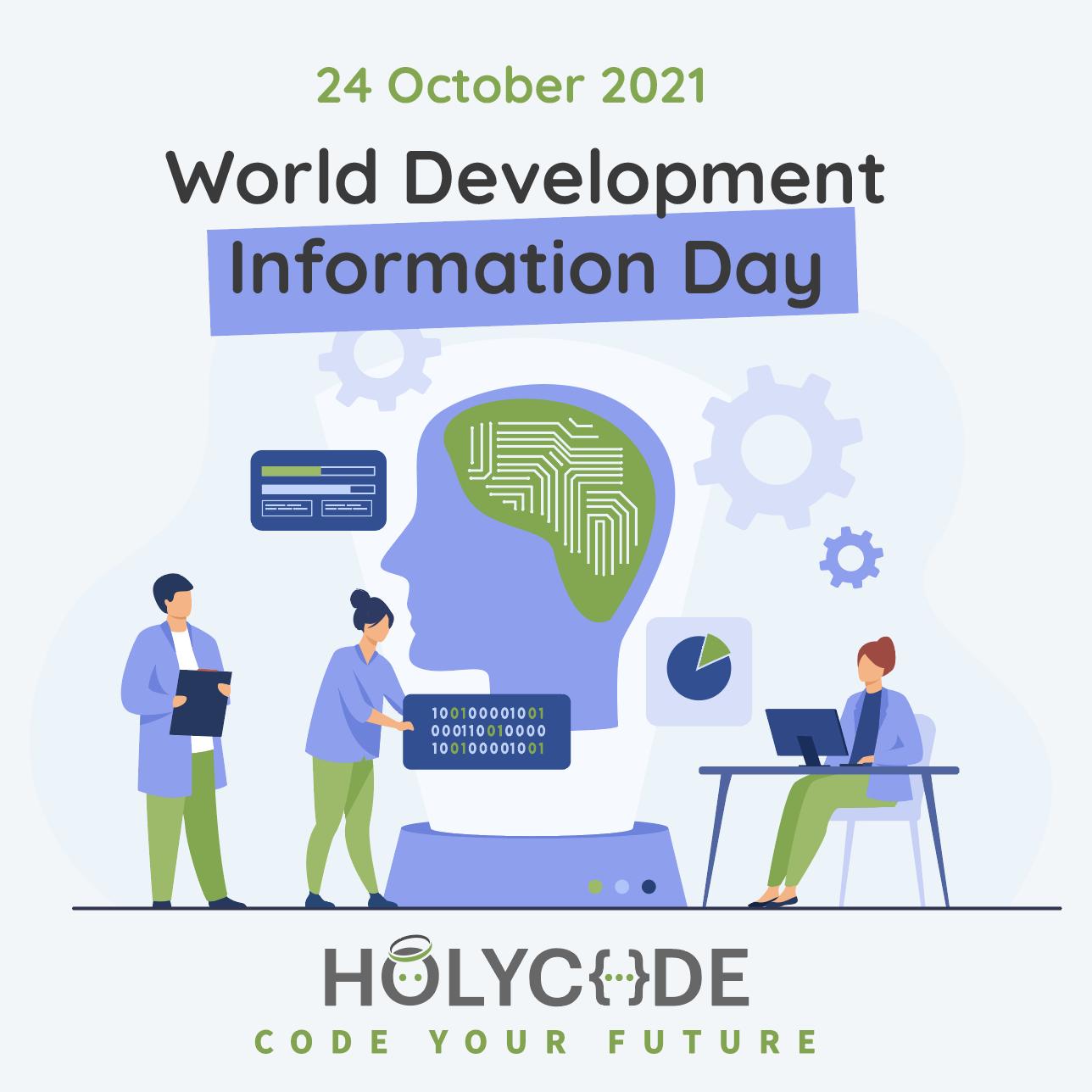 World Development Information Day! 💻